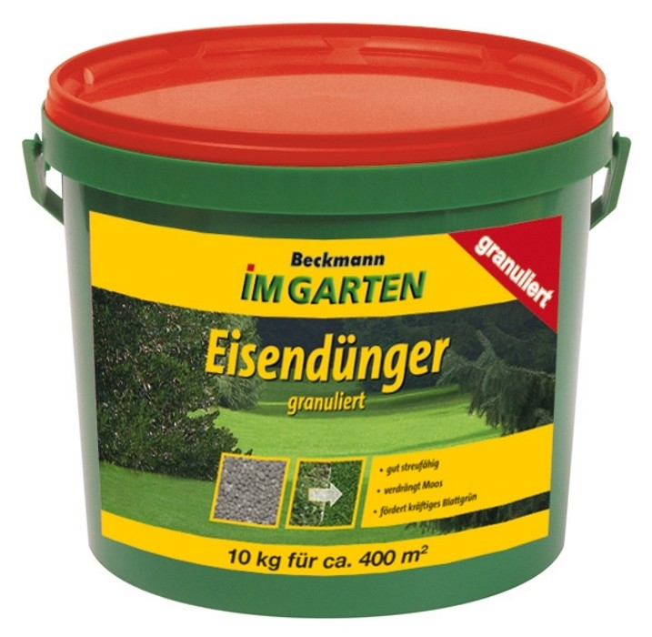 Eisendünger Rasendünger 10 kg granuliert f. ca. 400m²