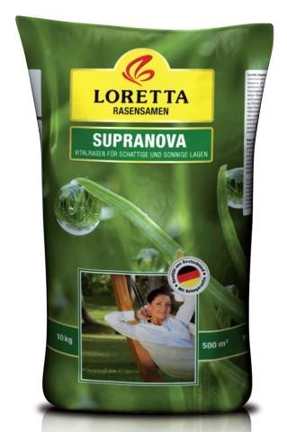 Loretta Supranova Rasensamen 10 kg für ca. 500 m²
