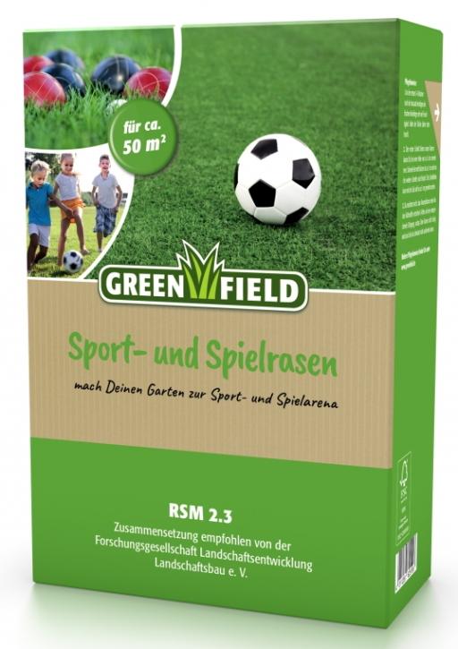 Sport + Spielrasen Mantelsaat 1 kg für ca. 50 m²