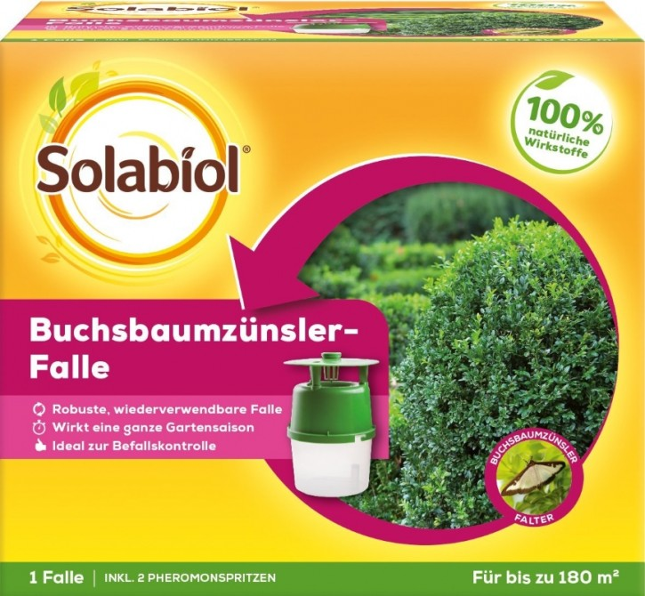 Solabiol Buchsbaumzünsler Falle Insektenabwehr
