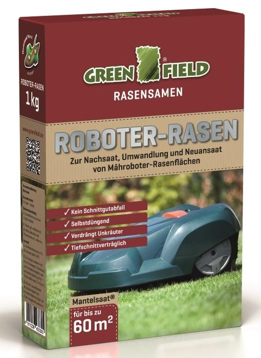 Greenfield Roboter Rasen Mantelsaat 1 kg für bis zu 60 m²