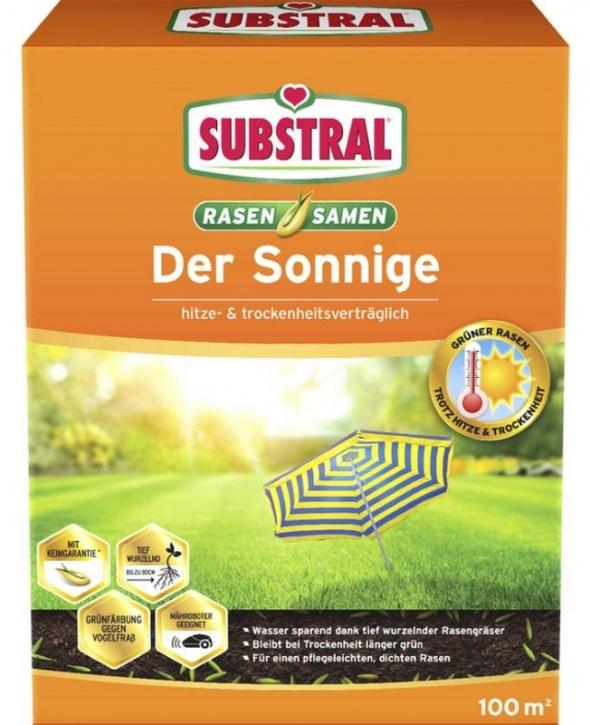 Substral Rasensamen Der Sonnige 2,25 kg für 100 m²