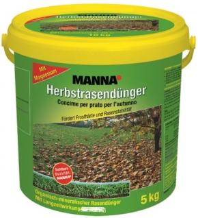 Herbst Rasen Dünger Manna 10 kg