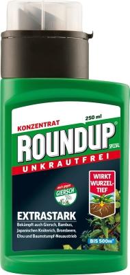 Unkrautfrei Round Up LB Plus 250 ml für ca. 500 m²