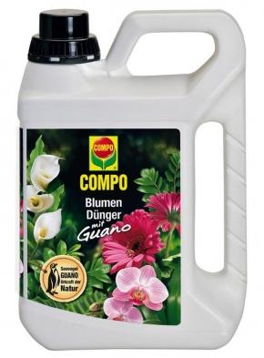 Blumendünger mit Guano flüssig Compo 3 Liter