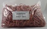 Gummiringe Gummibänder 60 x 5.0 mm Rot