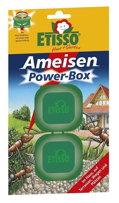 Ameisen Power Box Köderboxen Etisso 2 Köderdosen