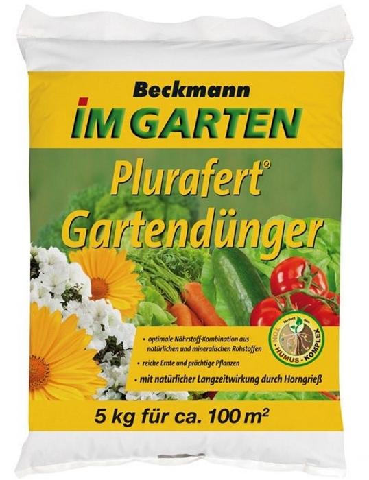Gartendünger Universal Plurafert 5 kg für 100 m²