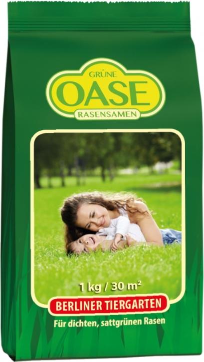 Grüne Oase Berliner Tiergarten Rasensamen 1 kg für ca. 30 m²
