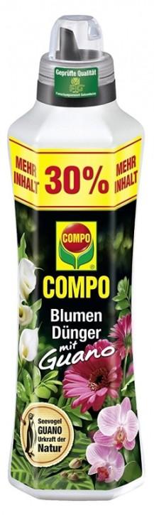 Blumen Dünger mit Guano Compo 1,3 Liter