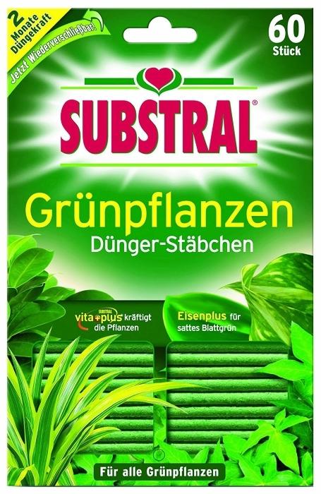 Dünger Stäbchen für Grünpflanzen Substral 60 Stück