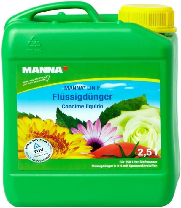 Blumendünger Manna Lin F Flüssigdünger 2,5 Liter