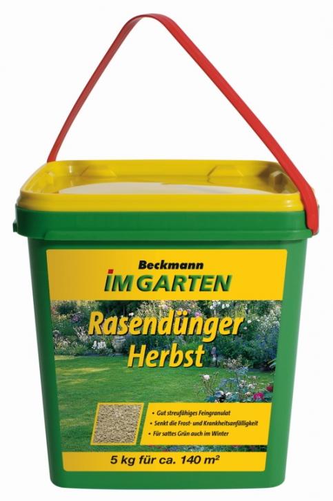 Rasendünger Beckmann Herbst Rasendünger 5 kg für ca. 140 m²