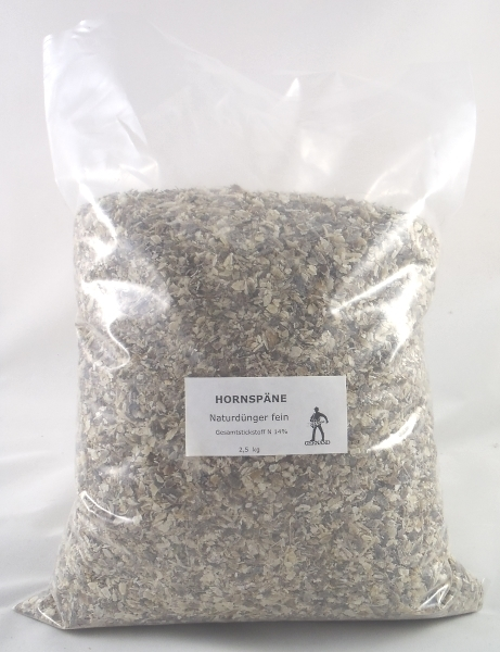 Hornspäne Horndünger fein Naturdünger 2,5 kg