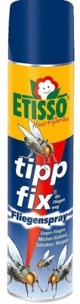 Etisso Tipp fix Fliegenspray 400 ml gegen Fliegen Wespen