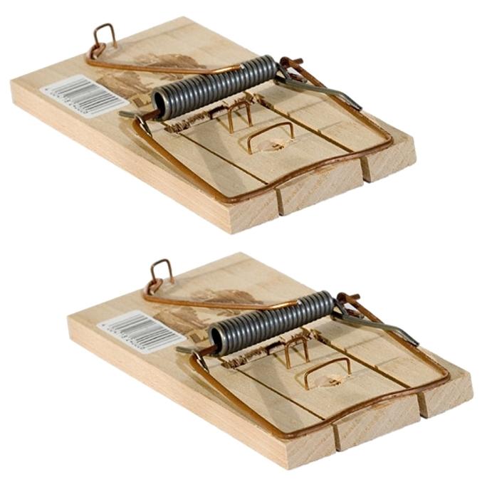 Mausefalle Schlagfalle Holz 10 Stück