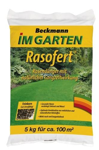 Rasen Dünger Rasofert org.min. 5 kg für 100 m²