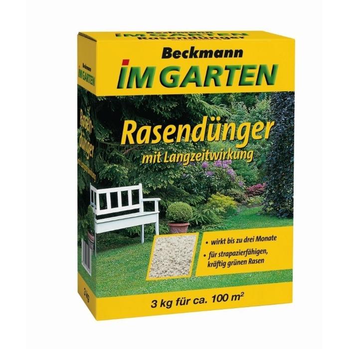 Rasen Dünger mit Langzeitwirkung BIG 3 kg für 100 m²