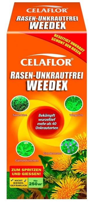 Rasen Unkrautfrei Weedex Unkraut Vernichter für 250 m²