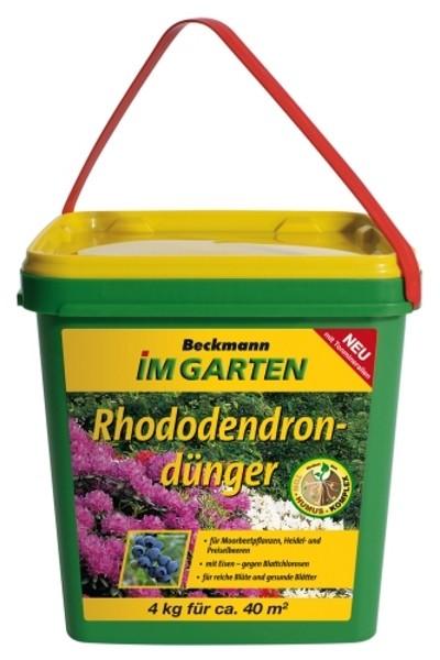 rhododendron d nger 4 kg beckmann 1511. Black Bedroom Furniture Sets. Home Design Ideas