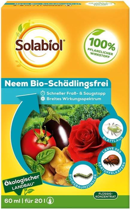 Bio Schädlings Frei Neem Solabiol 50 ml