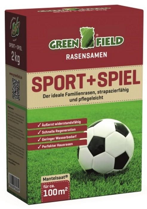 Sport + Spielrasen Mantelsaat 2 kg für ca. 100 m²