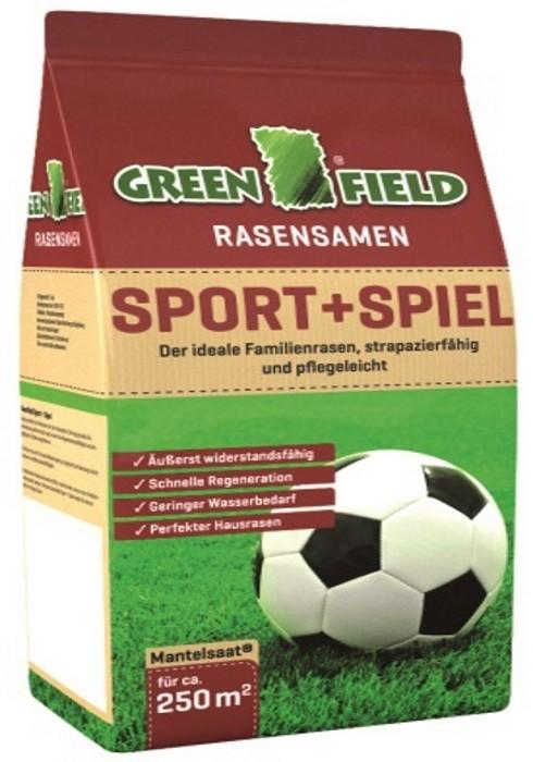 Sport + Spielrasen Mantelsaat 5 kg für ca. 250 m²