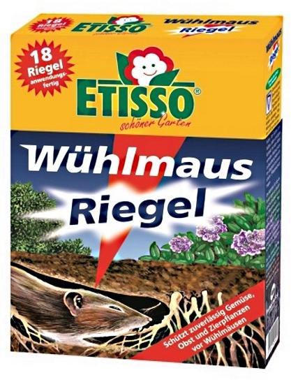 Wühlmaus Riegel Etisso 18 Riegel (18 x 10 g)