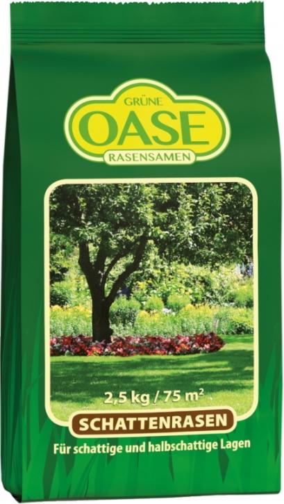 Grüne Oase Schattenrasen 2,5 kg für ca. 75 m²