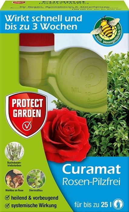 Rosen Pilzfrei Curamat (ehem. Baymat) 100 ml gegen Pilzkrankheiten