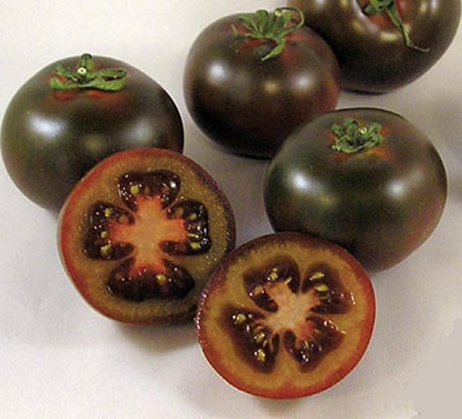 Tomaten Schwarze Kirschtomate Bombonera
