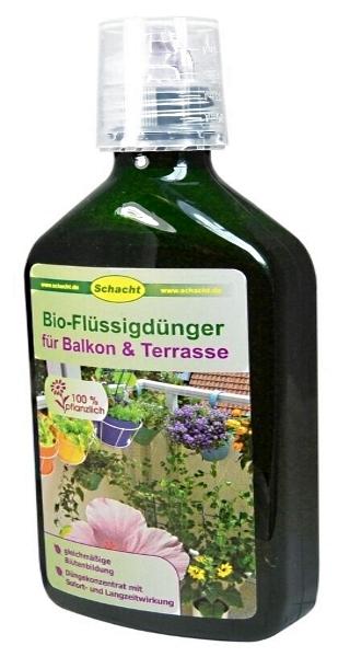 Schacht Bio Dünger für Balkon und Terrasse 350 ml