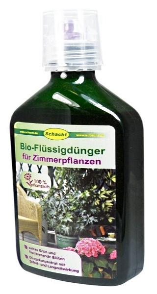 Schacht Bio Flüssigdünger für Zimmerpflanzen 350 ml