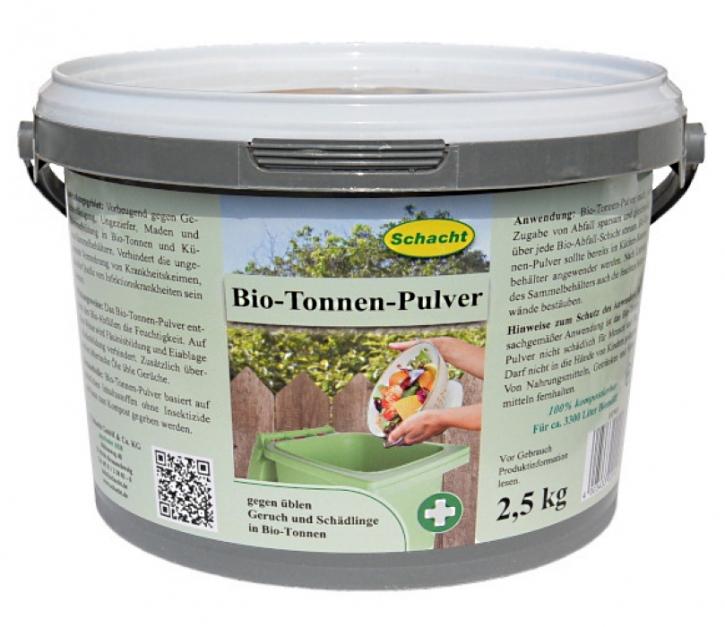 Bio und Mülltonnen Pulver Schacht 2,5 kg