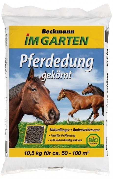 Pferdedung Bio Dünger Pferdemist gekörnt 10,5 kg
