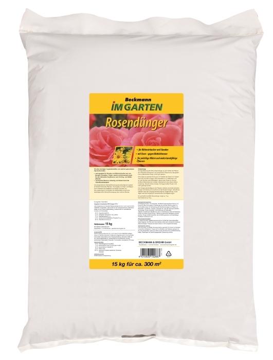 Rosen Dünger Organisch-mineralisch 15 kg für ca. 300m²