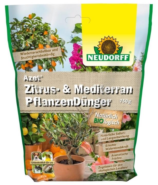 Zitrus & Mediterran Pflanzen Dünger Azet 750 g