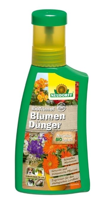 Blumen Dünger Bio Trissol Plus 250 ml