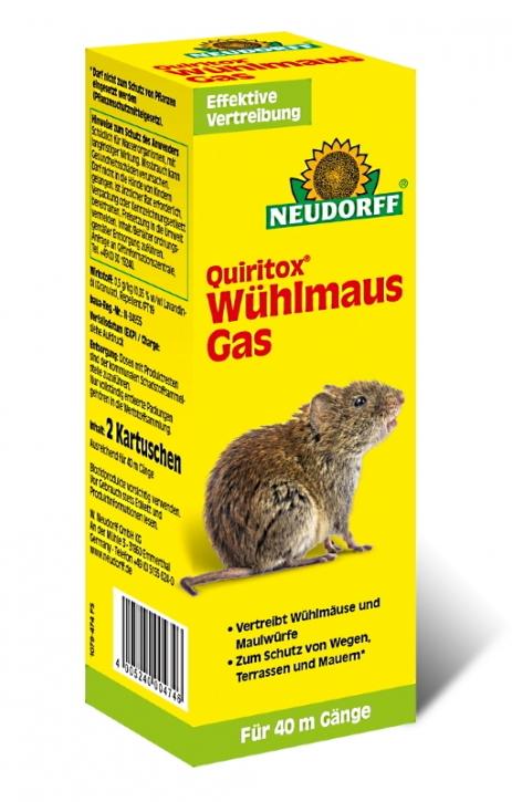 Wühlmaus Gas Neudorff Quiritox