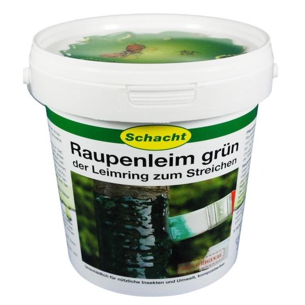 Raupenleim grün 1 kg gegen Frostspanner, Ameisen, Miniermotte