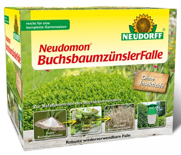 Buchsbaumzünsler Falle Neudomon Neudorff 1 Set