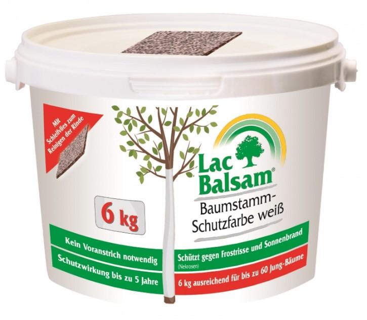 Etisso Lac Balsam Baumstamm Schutzfarbe weiß 6 kg