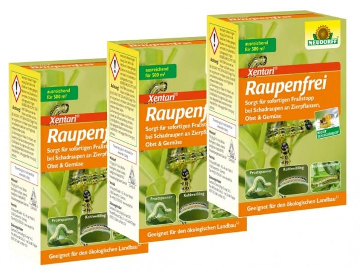 Raupenfrei Xen Tari Neudorff 3er Sparpack 3 x 25 g