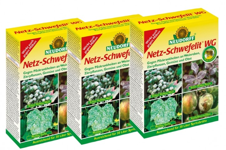 Netzschwefel Netz Schwefelit Neudorff 3er Sparpack