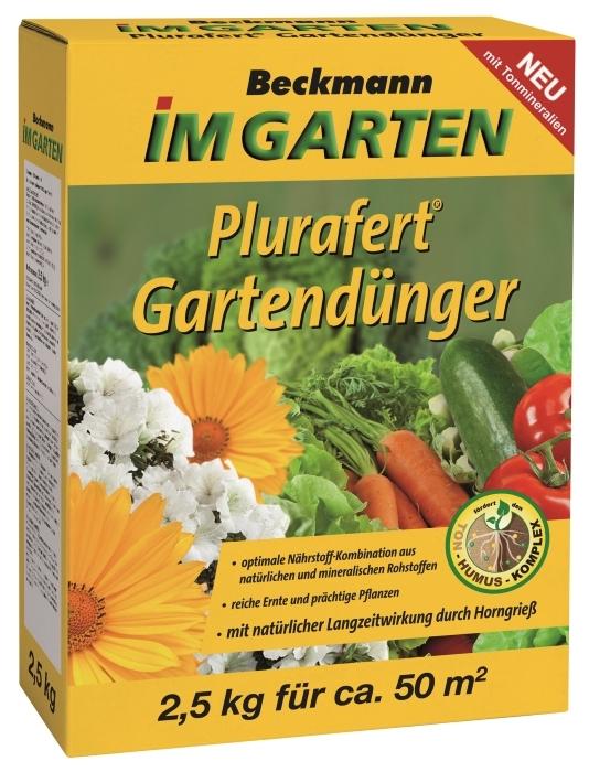 Gartendünger Universal Plurafert 2,5 kg für 50 m²