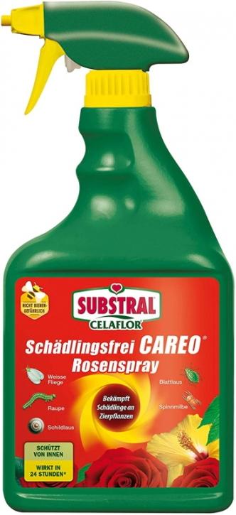 Schädlingsfrei Careo Rosenspray 750 ml Zierpflanzen Spray