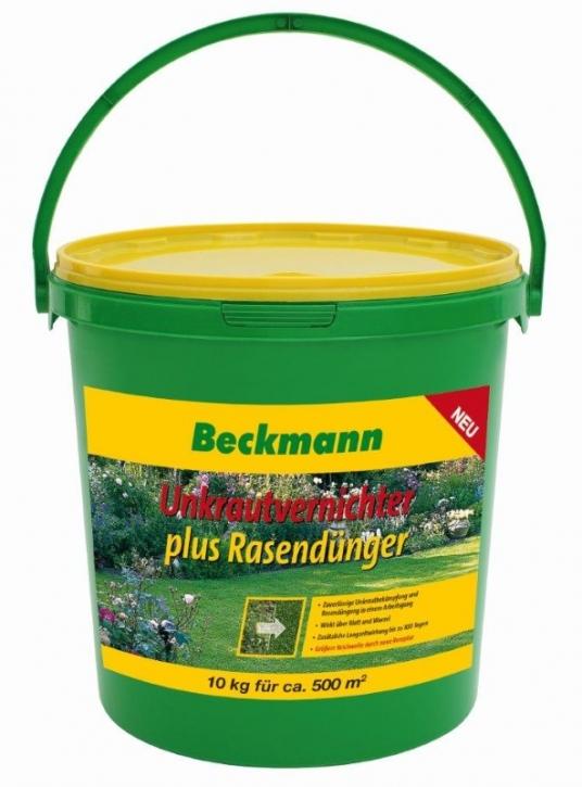 10 kg Rasendünger mit Unkrautvernichter für ca. 500m²