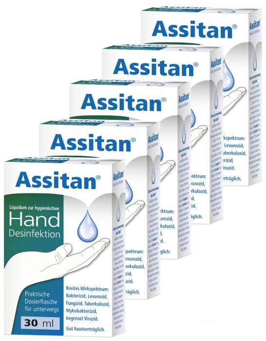 Assitan Hand Desinfektion 5er Sparpack