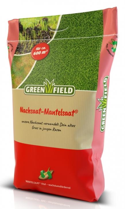 Rasen Nachsaat Mantelsaat Greenfield 10 kg für ca. 600 m²