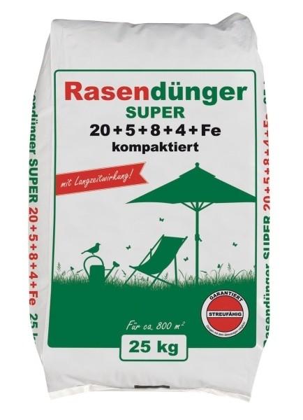 25 kg Premium Rasendünger mit Langzeitwirkung 800 m²